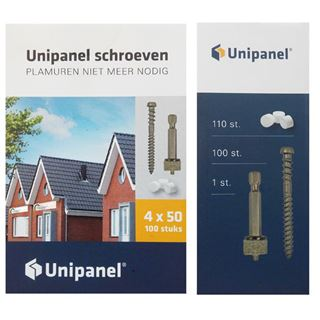 Unipanel Schroeven (100st)